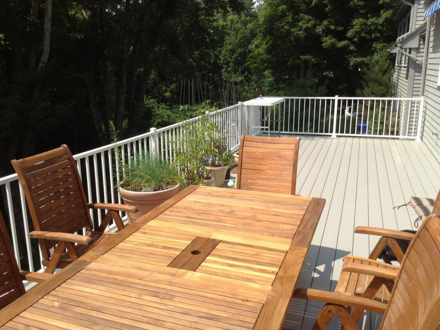 deck installations in Oxford, CT